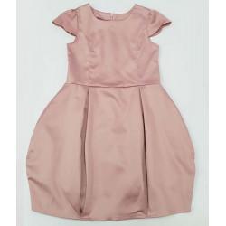 празнична рокля мек сатен-13371