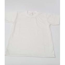 бяла тениска сингъл-80043