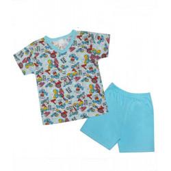 пижамка сингъл щампа Boy-39362