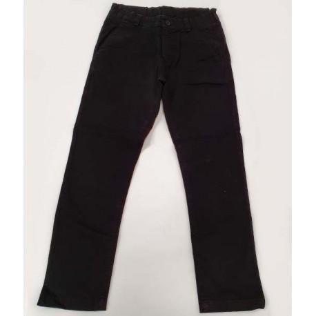черен панталон памук-22181