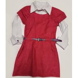 рокля+риза от трико-1074