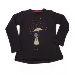 блузка лека вата златно чадърче-37088