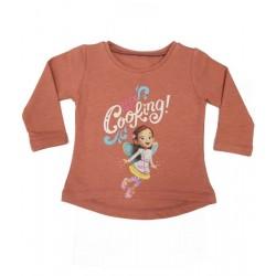 блузка лека вата Масленка пудра-37168