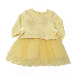 рокличка с панделки и мек тюл-99080