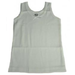 корсаж памук рипс бял-07100