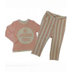 блузка с панталон бистреч-5744