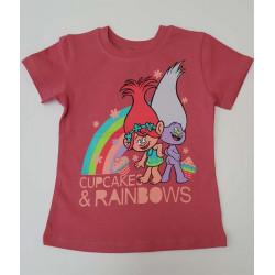 тениска Тролчетата фуксия20415