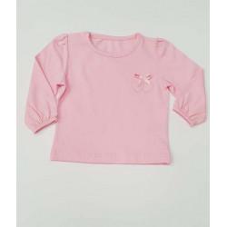 блузка СЪРЦЕ в розово-7215