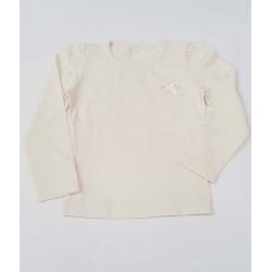 блузка СЪРЦЕ в екрю-7215