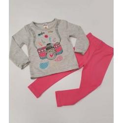 блузка с долничка Фото розово-8349