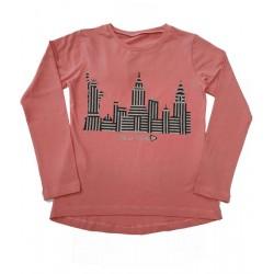 тънка блузка New York в пудра-37146