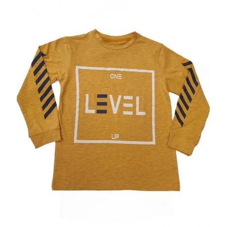 блузка Level горчица-37148