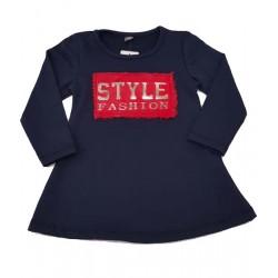 блуза лека вата Style-12965