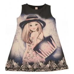 цветна рокля Момиченце-13582