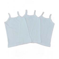 бял корсаж рипс тънка презрамка-923001