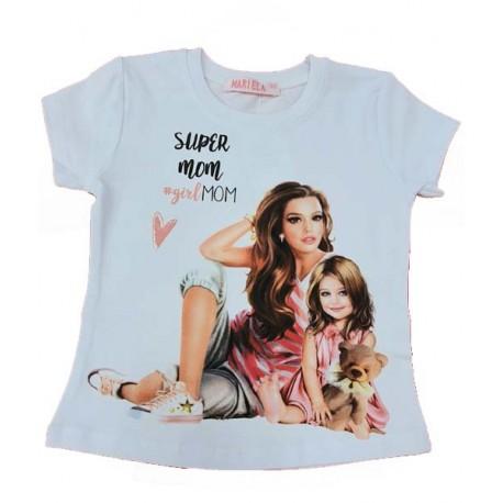 тениска Мама и Аз-