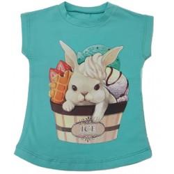 нежна блузка сладоледено Зайче-37129