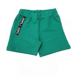 къси панталонки в зелено с джобове-3045