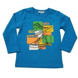 блузка Кец в тюркоаз-67096