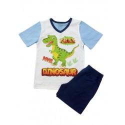 пижамка динозавър сингъл-914100