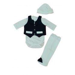 комплект за новородено 4 части-50104