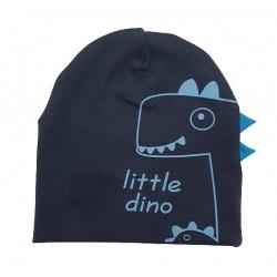 шапка Дино в тъмно синьо-13629